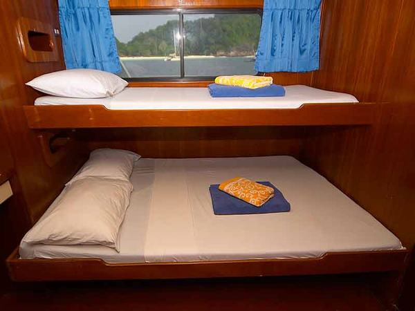 Mermaid II Liveaboard Cabin
